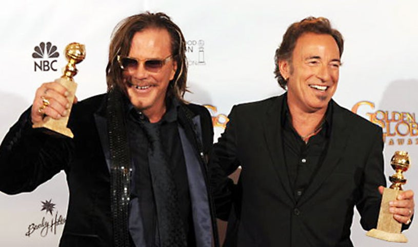 Mickey Rourke and Bruce Springsteen - 66th Annual Golden Globe Awards - Jan. 11, 2009 - Beverly Hills, CA