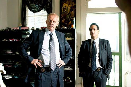 Treme - Season 3 - David Morse and Yul Vazquez
