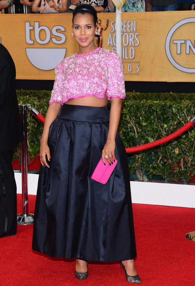 Kerry Washington - 20th Annual Screen Actors Guild Awards in Los Angeles, California, January 18, 2014