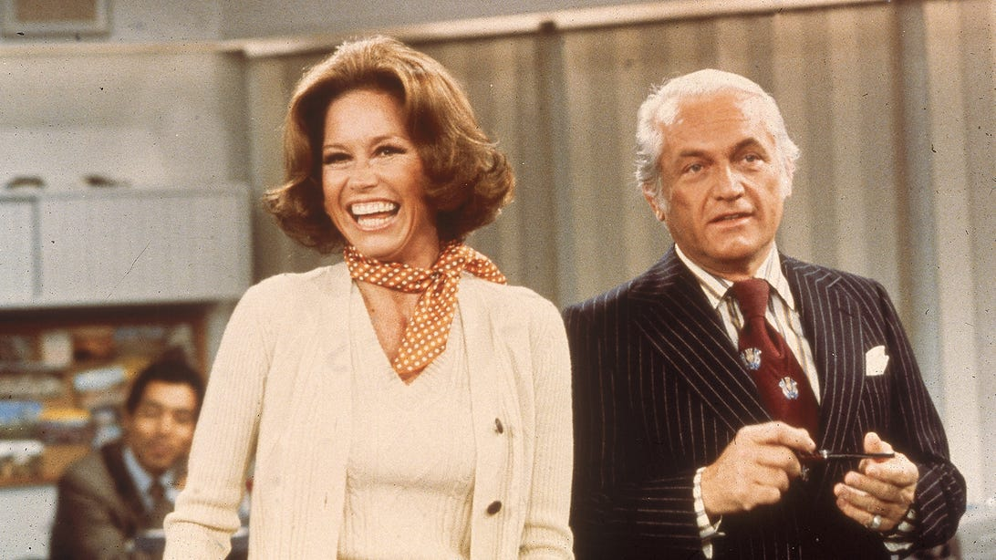 Mary Tyler Moore and Ted Knight, The Mary Tyler Moore Show