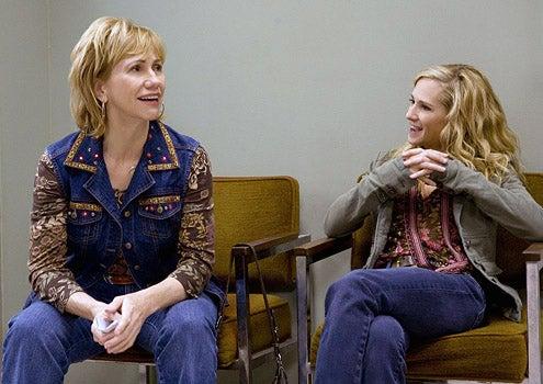 """Saving Grace - Season 2 - """"But Theres Clay"""" - Kathy Baker and Holly Hunter"""