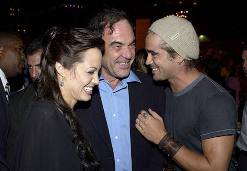 """Angelina Jolie, Oliver Stone and Colin Farrell - World Premiere of """"Lara Croft - Tomb Raider: The Cradle of Life"""""""