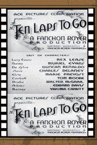 Ten Laps to Go as Larry Evans