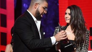 Drake and Nina Dobrev Had the Cutest Degrassi Reunion at the AMAs