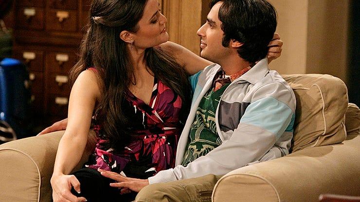 Danica McKellar and Kunal Nayyar, The Big Bang Theory