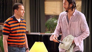 Roush Review: Two and a Half Men --- The Sheen Is Gone