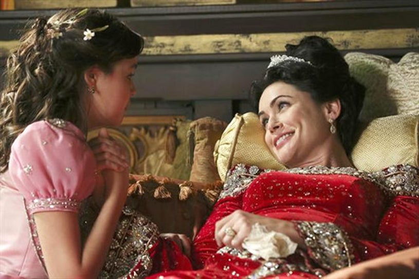 """Once Upon A Time - Season 2 - """"The Queen is Dead"""" - Bailee Madison, Rena Sofer"""
