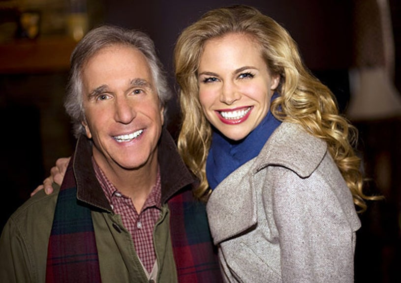 The Most Wonderful Time of the Year - Henry Winkler as Uncle Ralph and Brooke Burns as Jennifer
