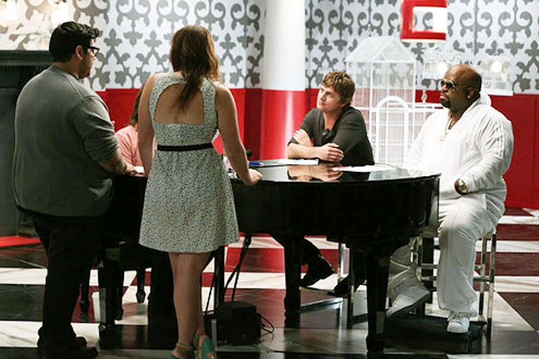 "The Voice - Season 3 - ""The Battles Continue"" - Daniel Rosa, Alexix Marceauz, Rob Thomas and Cee Lo Green"