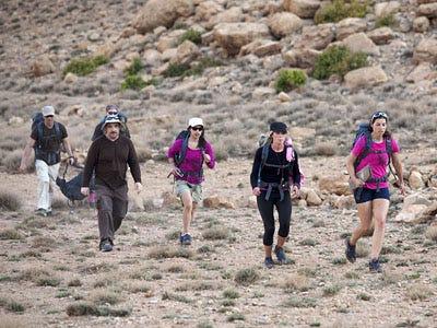 "Expedition Impossible - Season 1 - ""Sun! Sand! Sahara!"" - Joe Sanfilippo, Gus Sanfilippo, Nino Sanfilippo, Christina Chin, Brittany Smith and Natalie Smith"