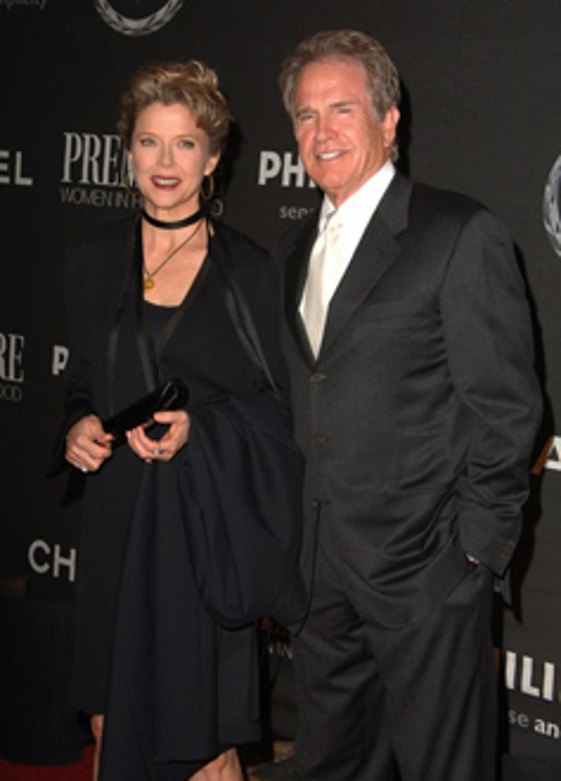Annette Bening and Warren Beatty - The 13th Annual Premiere Women in Hollywood, September 20, 2006