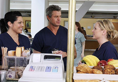 "Grey's Anatomy - Season 6 - ""Sympathy for the Parents"" - Sara Ramirez, Eric Dane, Jessica Capshaw"