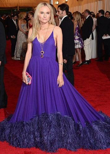 "Diane Kruger - The ""Schiaparelli And Prada: Impossible Conversations"" Costume Institute Gala at the Metropolitan Museum of Art in New York City, May 7, 2012"