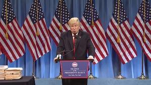 Saturday Night Live Returns with Trump Press Conference, Tina Fey Cameo