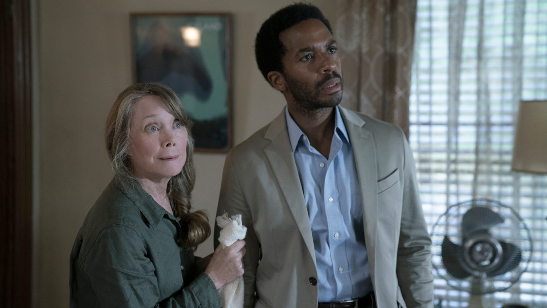 Sissy Spacek and Andre Holland, Castle Rock