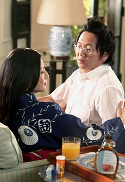 "Heroes - Season 3, ""Our Father"" - Tamlyn Tomita as Ishi Nakamura, Masi Oka as Hiro Nakamura"