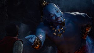 Will Smith Is Really Blue in the Aladdin Trailer and People Flipped Out