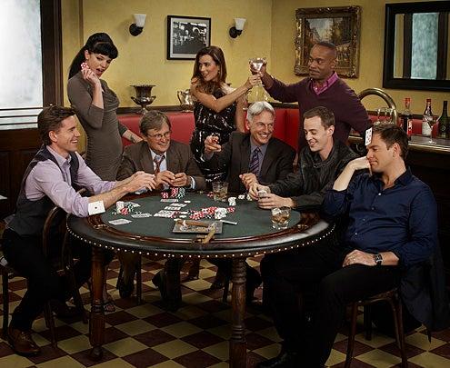 NCIS - Season 8 - Brian Dietzen, Pauley Perrette, David McCallum, Cote de Pablo, Mark Harmon, Rocky Carroll, Sean Murray and Michael Weatherly