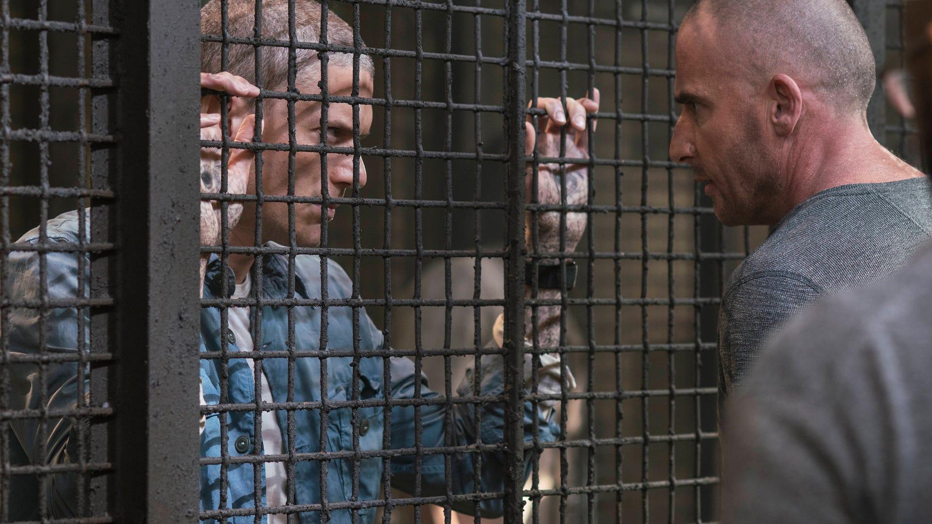 Wentworth Miller, Dominic Purcell; Prison Break