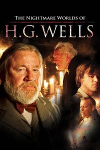 Nightmare Worlds of HG Wells as Professor Pawkins