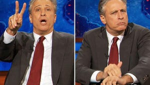 Top Moments: Jon Stewart Sacks the NFL, Sons Sticks a Fork in It Again