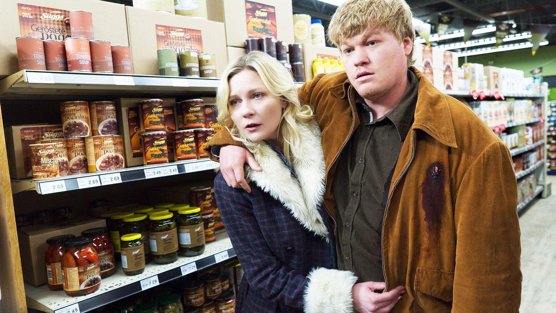 Kirsten Dunst and Jessee Plemons, Fargo