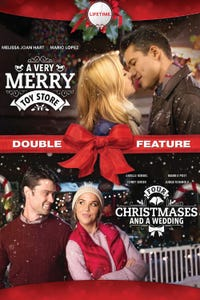 A Very Merry Toy Store/ Four Christmases and a Wedding Double Feature as Evan Mathers
