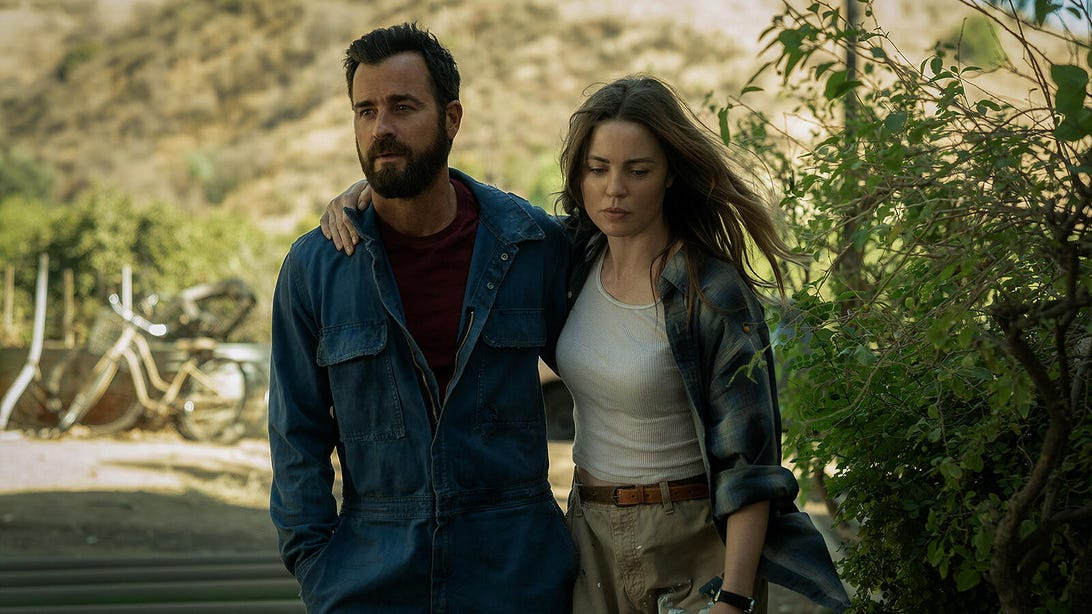Justin Theroux, Melissa George, The Mosquito Coast