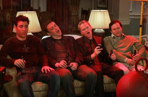 "How I Met Your Mother - ""Bachelor Party"" - Josh Radnor, Jason Segel, Neil Patrick Harris, Matt Boren"
