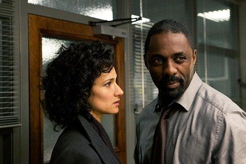 Luther - Season 1 - Indira Varma and Idris Elba