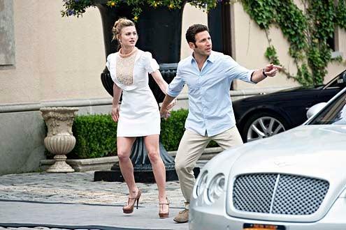 "Royal Pains - Season 5 - ""Hammertime"" - Brooke D'Orsay and Mark Feuerstein"