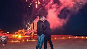 Teen Wolf Star Colton Haynes' Romantic Engagement Photo Will Leave You Speechless