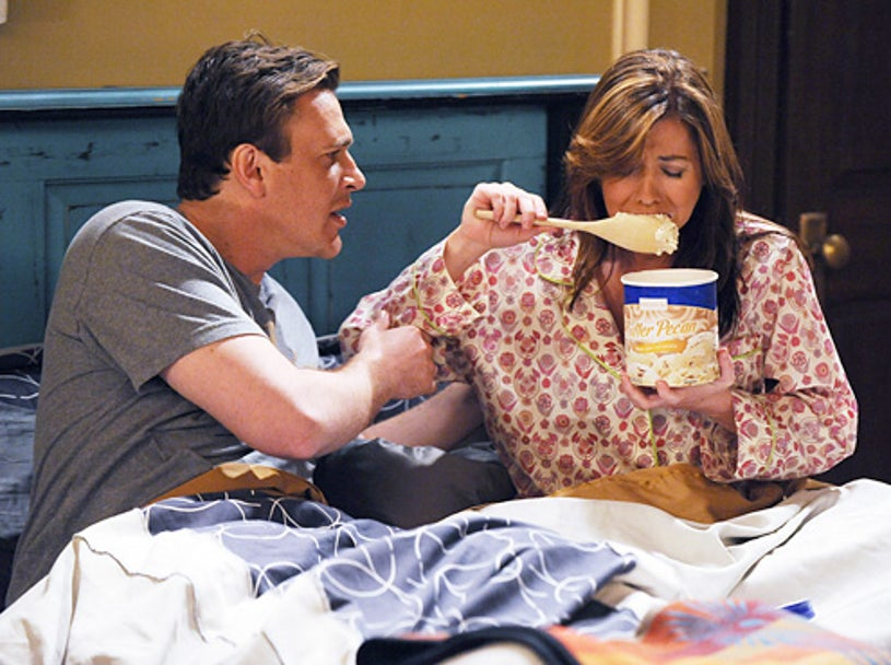 """How I Met Your Mother - Season 5 - """"Definitions"""" - Jason Segel and Alyson Hannigan"""