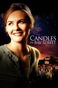 Candles on Bay Street as Sam Timmons