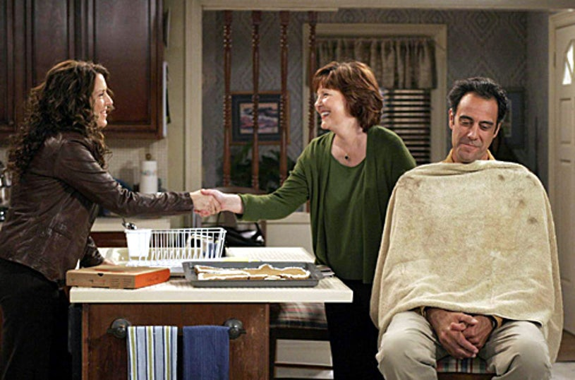 """Til Death - """"Your Mother or Your Wife"""" - Joely Fisher, guest star Jenny O'Hara and Brad Garrett"""