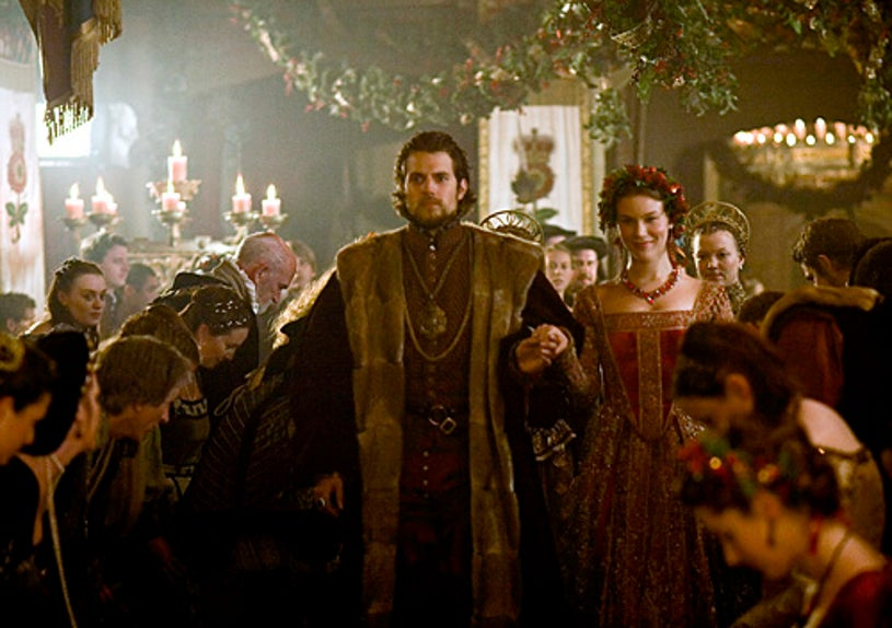The Tudors - Season 4 - Episode 2 - Henry Cavill as Charles Brandon and Joss Stone as Anne of Cleves
