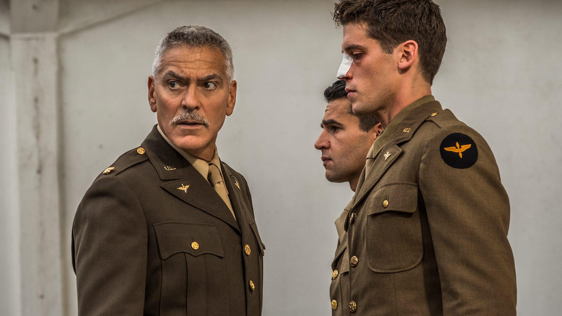 George Clooney, Christopher Abbott, Pico Alexander, Catch-22