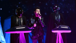 The Weeknd and Daft Punk Reunite for a Chill Performance at the Grammys