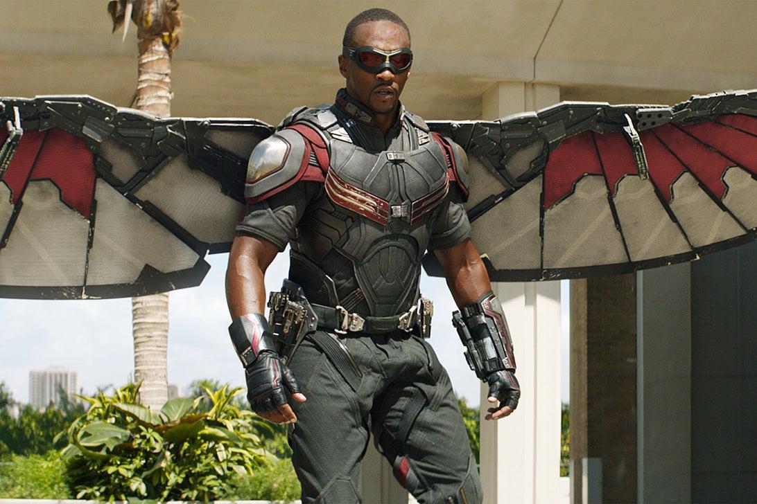 Falcon, Captain America: Civil War