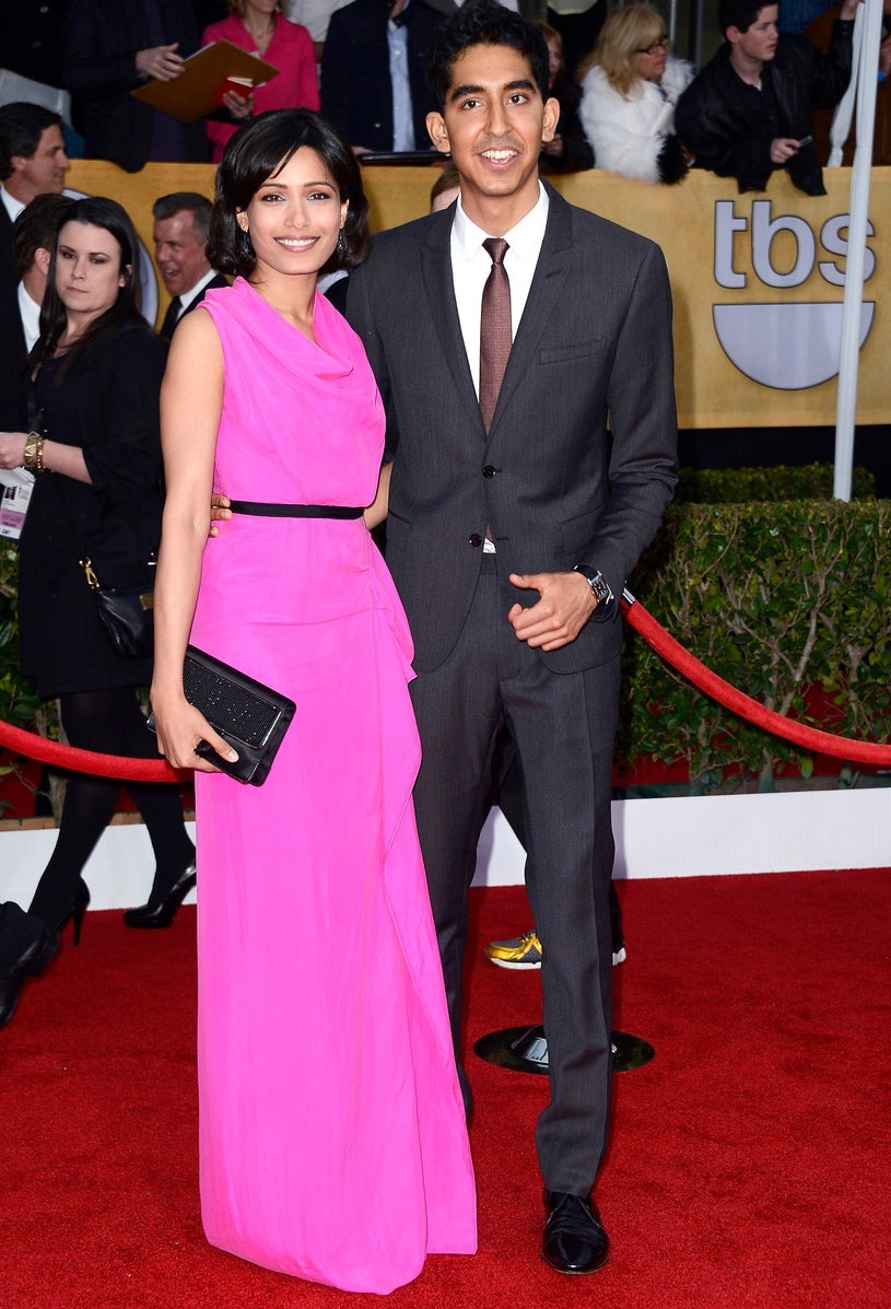 Freida Pinto and Dev Patel - 19th Annual Screen Actors Guild Awards in Los Angeles, California, January 27, 2013