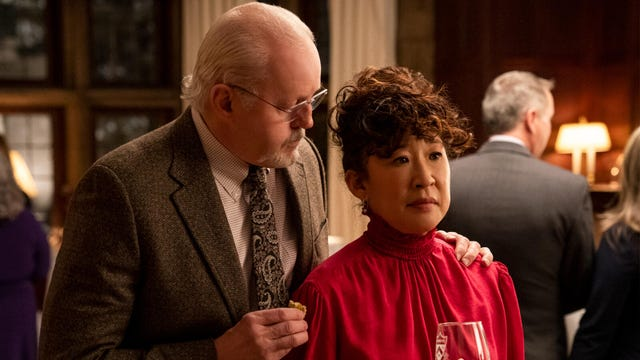David Morse and Sandra Oh, The Chair