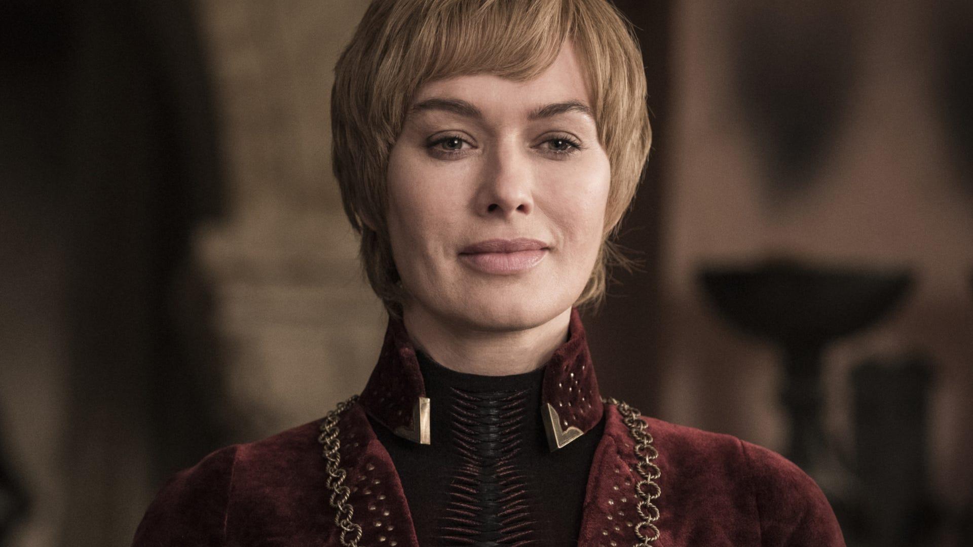 "Cersei Lannister (Lena Headey) on Game of Thrones Season 8, Episode 5: ""The Bells"""