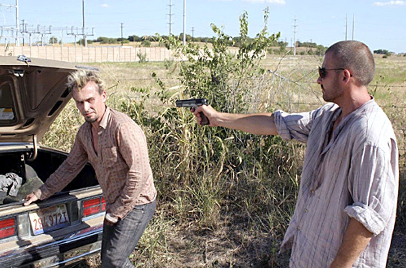 """Prison Break - """"Map 1213"""" - Robert Knepper and Dominic Purcell"""