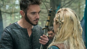 Vikings Exclusive: Is Love in the Air for Lagertha and Heahmund?