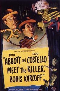 Abbott and Costello Meet the Killer, Boris Karloff as Abernathy