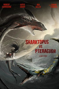 Sharktopus vs. Pteracuda as Dr. Rico Symes