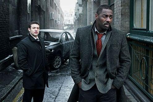 Luther - Season 2 - Warren Brown and Idris Elba
