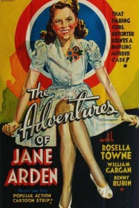 Adventures of Jane Arden as Edward 'Ed' Towers