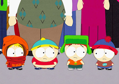 "South Park - ""Preschool"" - Kenny, Cartman, Kyle and Stan"