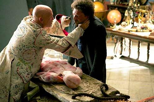 "Crossbones - Season 1 - ""Pilot"" - John Malkovich and Richard Coyle"